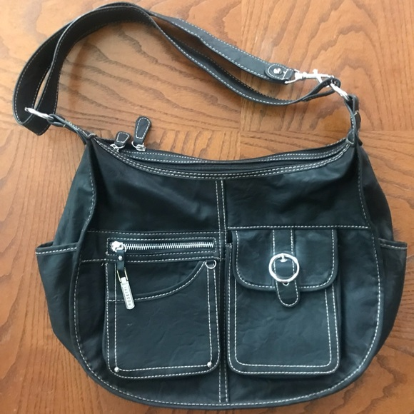 Rosetti Handbags - Rosetti black vegan leather purse